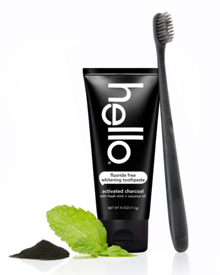 Hello - Activated Charcoal Fluoride Free Whitening Toothpaste