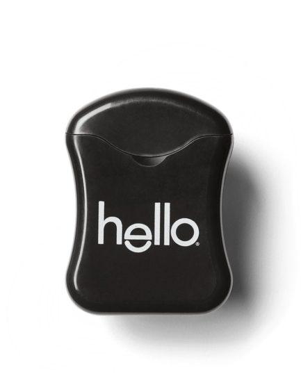 Зубная нить Hello c активированным углем