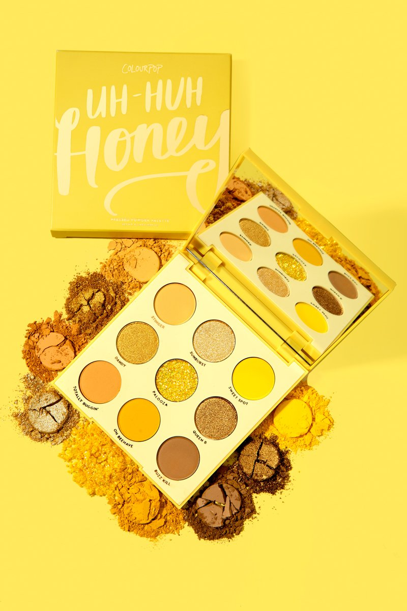 ColourPop - Uh-huh Honey Pressed Powder Shadow Palette
